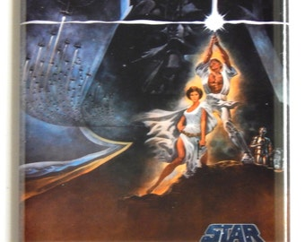 Star Wars Movie Poster Fridge Magnet