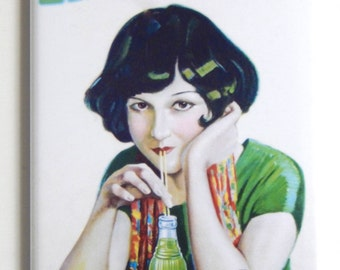Lime Julep Soda Sign Fridge Magnet (2 x 3 inches)