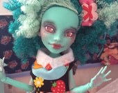meet melanie custom ooak monster high honey swamp doll
