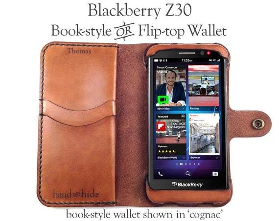 Blackberry Z30 Leather Cases Blackberry Z30 Leather Wallet