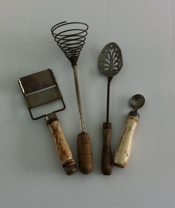Vintage Kitchen Gadgets Primitive Kitchen By Junkgirlgreen