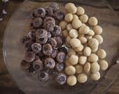 Peanut Butter Sea Salt Mini Cookies : Great for Birthdays, Anniversaries, Get Well Gift, Wedding Favors, Gluten Free Option