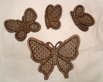Burwood Butterflies Set of Four