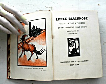 vintage Little Blacknose-The Story of A Pioneer Locomotive