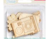 50% Off - Crate Paper Poolside -  Wood Veneer -- MSRP 4.00