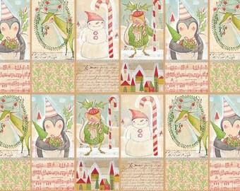 Blend Fabrics - Joy & Wonder - Giving Joy Panel