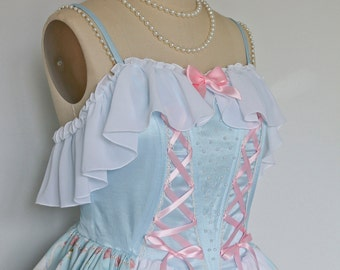 La Danse Enchanteresse of Swan Lake Chiffon Ruffle JSK Dress, Sweet Lolita