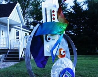 Alex Kovacs - Art Indoor / Outdoor Metal Sculpture Abstract Home Decor - AK359