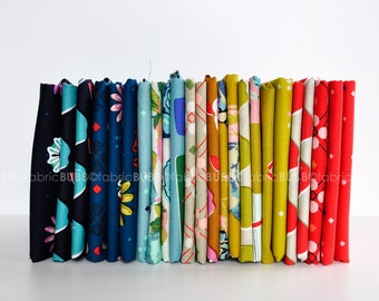 Picnic Fat Quarter Bundle by Melody Miller for Cotton and Steel Fabrics, COMPLETE