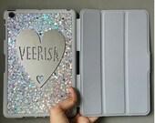 personalised hologram ipad mini cover, ipad mini smart cover, ipad mini 2 case, ipad air 2 case, ipad mini glitter case,smart cover