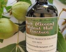 Black (Green) Walnut Hull Herbal Tincture ~ Multiple Sizes
