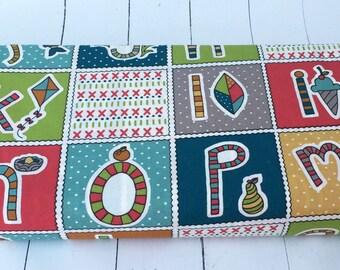 Picnic Whimsy - ABC Patch - Birch Fabrics - 732-T - 1/2 Yard