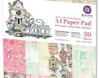 Prima GARDEN FABLE A4 Paper Pad