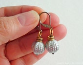 Earrings, Vintage Beads, Metallics, Mixed Metals, 3 Pack, Party Favours, Buddy Pack