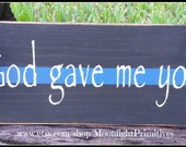 God Gave Me You, Police, Thin Blue Line, Police Officer, Thin Red Line, Law Enforcement, LEOW, Police Wife, Police Officer Gift, Firefighter