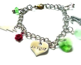 Sailor Jupiter Charm Bracelet
