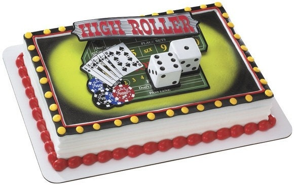 Casino cake decorating ideas