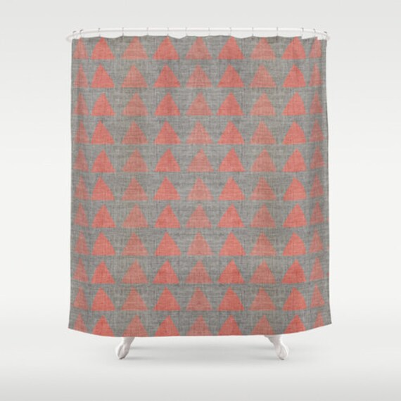 Items Similar To FABRIC SHOWER CURTAIN Neutral Medium Gray