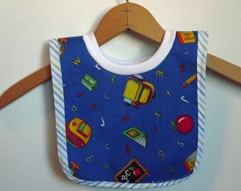 Baby Bib-Small Pull Over Baby Bib for Babies and Toddlers-s0025