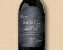Unique avery label 22826 related items etsy for Avery wine label templates