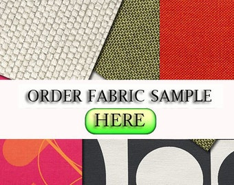 Order any Fabric Sample Swatch