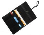 Tobacco pouch smoke pouch black