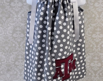 Texas A&M Baby or Toddler A-Line Dress sizes 6mos. to 5