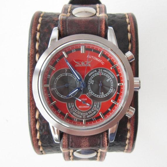 jaragar automatic watch instructions