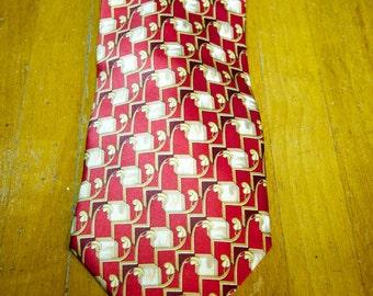 Vintage  Valentino Silk Tie