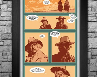 """The Outlaw Josey Wales inspired limited edition 11x17"""" art print"""