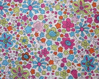 LIBERTY Of LONDON Tana Lawn Cotton Fabric  'Sophie's Blossom' Multicolor Floral