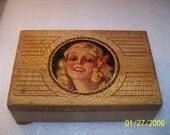 Lovely old box, ephemera included