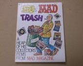 Vintage 1977 Dave Berg's MAD Trash,Mad Magazine First Printing