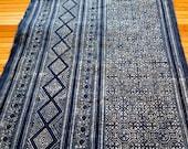 Handprinted  Hmong cotton, New fabric, Batki  textiles and fabrics- Table runner,