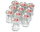 LIttle Diner Coffee Creamer Bottles Vintage Mint New Old Stock Set 10