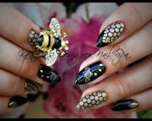 See What ALL the Buzz Is About Gel Artificial Nail Art