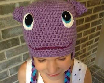 Oh, from the movie Home, crochet hat **PATTERN ONLY**
