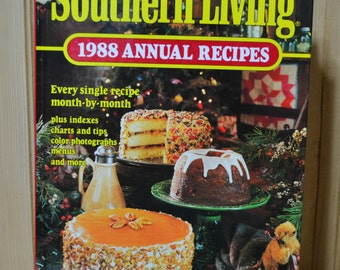 Vintage 1988 Southern Living Annual Recipes Cookbook Like New