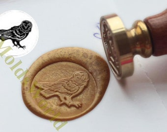 S1250 Owl,Nighthawk Wax Seal Stamp , Sealing wax stamp, wax stamp, sealing stamp