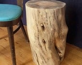 Stump Table - stump stool, log end table, log table, log stool, rustic decor, rustic home decor, cabin furniture, cabin decor, rustic decor