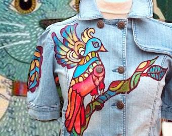 Denim jacket Reto Ibiza Hippie style