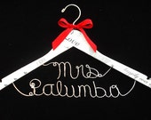 The Perfect Wedding Dress Hanger, Best Bridal Gown Hanger, Handmade Personalized Beautiful Bride Hanger, Keepsake Bridal Gift, Top #1 Hanger