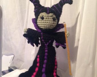 Maleficent Amigurumi hand crafted