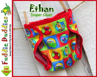 Quick & Easy! Baby Diaper Cover Pattern pdf, Baby Bloomer Pattern, Infant Bloomer Sewing Pattern, INSTANT DOWNLOAD, Diaper Cover Pattern.
