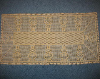 Bunny Parade Table Runner Centerpiece (PDF download pattern only!!!!)