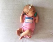"Swanky Shank ""Hello My Name Is"" Hand dyed Bodysuit"