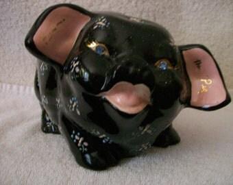 Pig Bank by Lefton, Napco, or Roselane