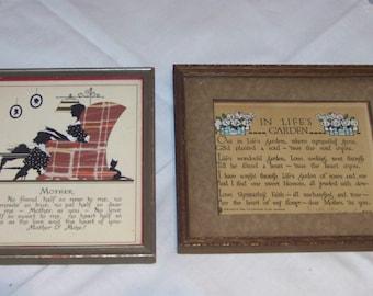 Mother framed pictures (2)