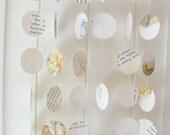 10ft Vintage Beatrix Potter Storybook Garland - Baby Shower Decoration, Storybook Birthday Party