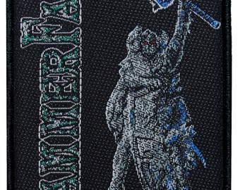 "Heavy Metal Band ""HammerFall (r)Evolution"" Album Cover Art Sew On Applique Patch"